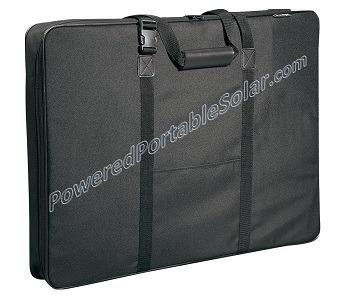 Deluxe Panel Carry Case Portable Solar Generator