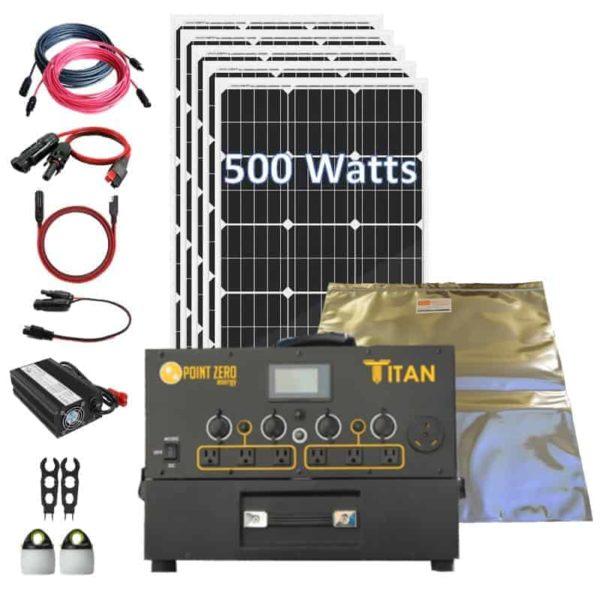 Titan 500 Rigid Kit