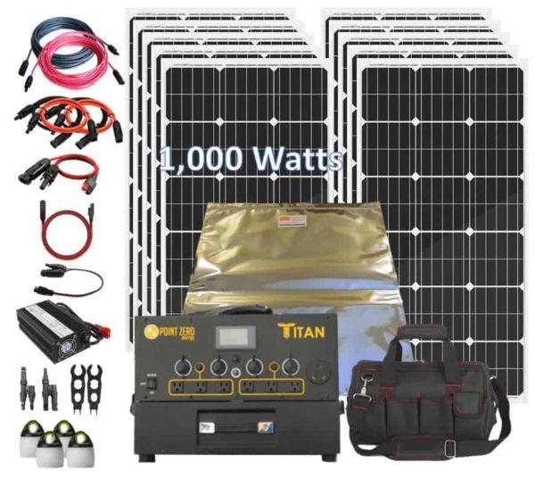 Titan 1000 Rigid Kit