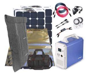 Alpha Solar Generator Kit