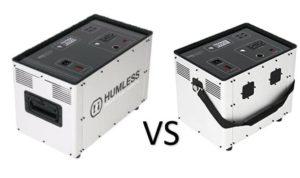 Humless 1500 1.3 vs .64