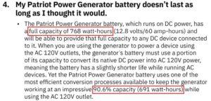 User Manual 960 Watt Hours
