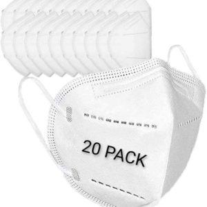 KN95 Protective Mask 20pk