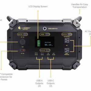 Lion Safari ME Portable Solar Power